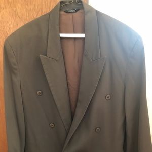 Young men's suit jacket and pant